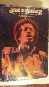 Jimi Hendrix Voodoo Child of the Aquarian Age Autographed Book