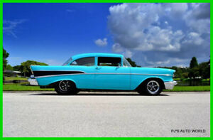 1957 Chevrolet Bel Air150210  1957 LS Swap Twin Turbo Super Chevy Magazine Car Custom