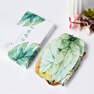30PcsSet Leaves Shape Postcard Bookmark Wall Decor Supply Post Card Gifts New