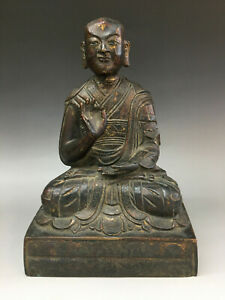 Nice Old Chinese Ming Dynasty Bronze Buddha