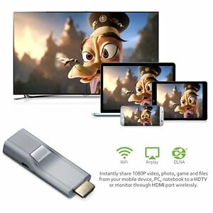 1080P Wireless HDMI WiFi Dongle Adapter Airplay  Display Video Audio Converter