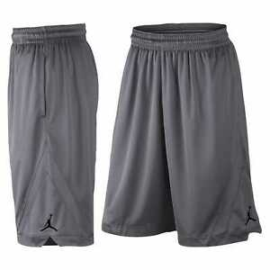 Nike Air Jordan Dri-Fit Triangle Basketball Shorts Light Grey Men's Small 4XL