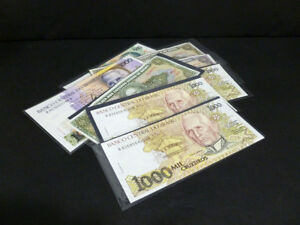 PAPER MONEY LOT OF 8 BRASIL ASSORTED BANKNOTES SUPERB CONDITION 6931 $9.99