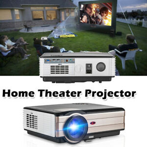 4000LMS HD 1080p LCD Home Theater Projector Multimedia Video Movie Game HDMI USB