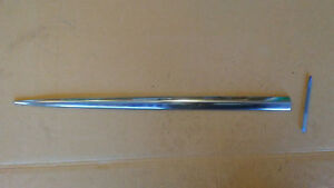 60 Ford 4 door RH side trim stainless molding spear front door station wagon car