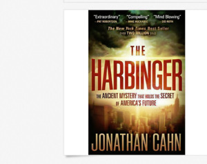 THE HARBINGER by Jonathan Cahn a paperback book FREE SHIPPING Christian prophecy
