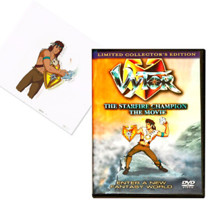 Vytor DVD and real original animation cell $25.00