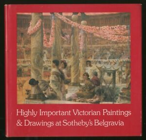 Highly Important Victorian Paintings amp; Drawings First Edition 1980 $60.00