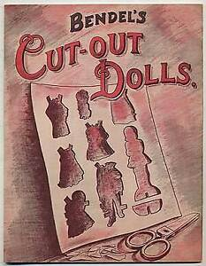 Jay KISSINGER Peter Palazzo Bendel#x27;s Cut Out Dolls First Edition 1962 $150.00
