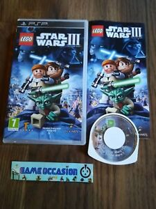 Lego Star Wars 3 III Sony Psp PLAYSTATION Pal Complete