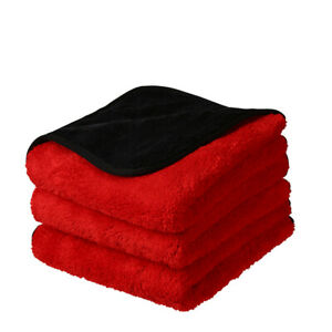Bulk 1200 GSM Premium Plush Microfiber Towel Pro car Wash Drying Cleaning