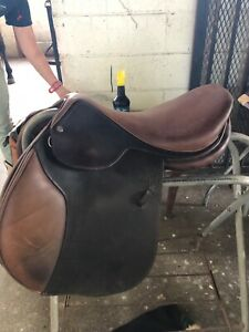 "Beval Artisan English Saddle - 17.5"" in very good condition"