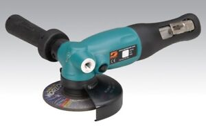 "Dynabrade 4"" Pneumatic Air Right Angle Grinder 1.3 HP 3 8quot; 24 Spindle 13500 RPM $294.95"