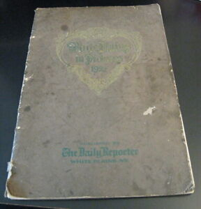 Super-Rare Book! WHITE PLAINS IN PICTURES 1927 (Daily ReporterW.P.) Very HTF!!