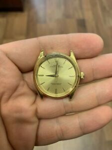 Vintage Men's 18k Yellow Gold Rolex Oyster Automatic Watch Ref. 1003 - Ca. 1961