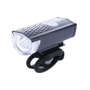 Waterproof 300LM Cycling Bicycle LED Lamp USB Rechargeable Bike Front Light Lamp