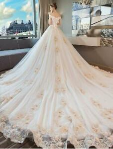 Wedding Dress Luxury Tube Top New Bride Sequin Lace Up Mesh Lace Mid Waist Ths01