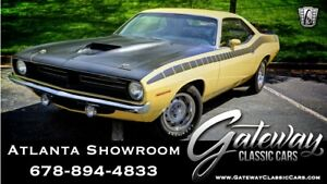 1970 Plymouth Other -- 1970 Plymouth Cuda  Coupe 340 6 pack V8 3 speed automatic