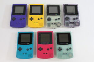 GAME BOY Color Console Gameboy GB Japan Import New Screen TESTED