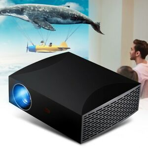 5500 Lumens Mini Projector 1920x1080 3D Home Theater Cinema Multimedia LED LCD