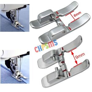 1SET 6MM And 9MM Open Toe Presser Foot with IDT for Pfaff Sewing Machines $8.49
