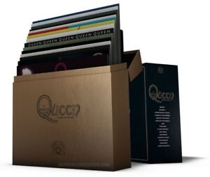 The Studio Collection by Queen 1ST PRESSING SEALED COLORED VINYL 2015 18 LP SET