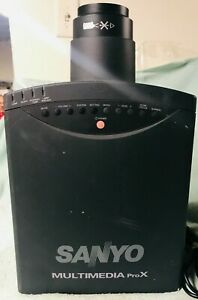 Sanyo PLC-5500N Multimedia ProX Home Theater Video Projector Unit