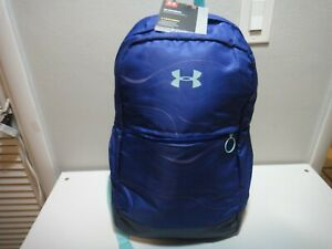 Under Armour Girls Favorite Strom BackPack Padded Laptop Sleeve Purple Blue