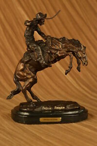 THE BRONCO BUSTER By Frederic Remington 10