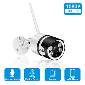 1080P HD Wireless IP Camera Outdoor Home WIFI Network Security Full Color Audio