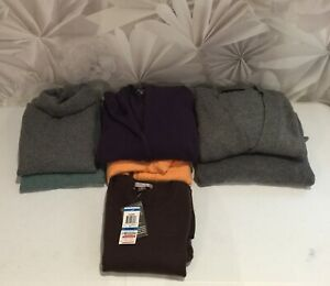 100% Cashmere Craft Cutter Sweaters Unfelted Lot of 7