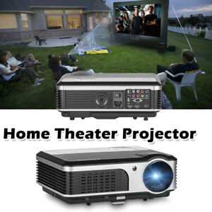 Home Theater Video Projector Multimedia Backyard Movie Games HDMI USB HD 1080p