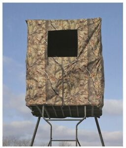 NEW Guide Gear 2 Man Tower Hunting Blind Deer Blind Shelter Camping Sports