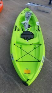 Lifetime Tahoma 100 Sit-On-Top Kayak Boat Paddle Included w/ Storage Hatch NEW!