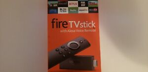 Amazon Fire TV Stick with Alexa Voice Remote Streaming All NFL and NCAA