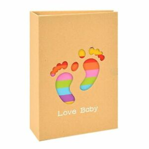 Baby Kid Growth Record Photo Album 6inches 100sheets Cute Cartoon Picture Gifts