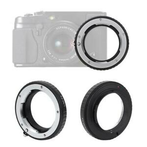 LM-FX Lens Adapter Ring MF for Leica M Lens to for Fujifilm X-Pro1 Mirrorless BS