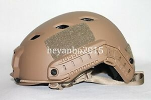 US LIGHTWEIGHT OPS-CORE FAST BASE JUMP MILITARY HELMET AOR1 Mud color