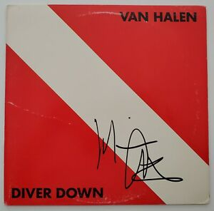 Michael Anthony Signed Van Halen Diver Down Vinyl Record Bassist LEGEND RAD $99.99