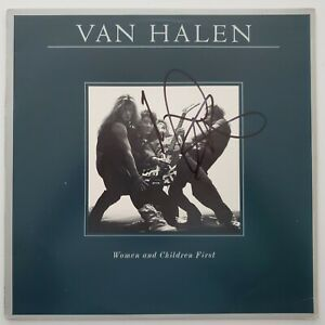 Michael Anthony Signed Van Halen Women amp; Children First Vinyl Record LEGEND RAD $99.99