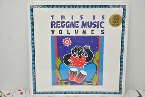 THIS IS REGGAE MUSIC MLPS 9851 VOLUME 5 LP NM SHRINK Limited Ed. Press Sticker