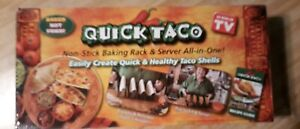 Quick Taco Baking Rack & Server all in one As Seen on TV Brand New Retail Box