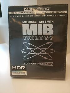 Men in Black Trilogy 20th Anniv 4K Ultra HD Blu-ray 6-Disc New w Free Shipping