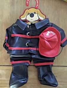 "Patrick the Pup Dress Up Firefighter Outfit ""NEW� 15� Doll Fao Schwarz Dog $19.99"