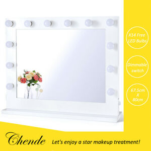 Chende Hollywood Vanity Mirror with Lights LED Makeup Mirror for Beauty Room