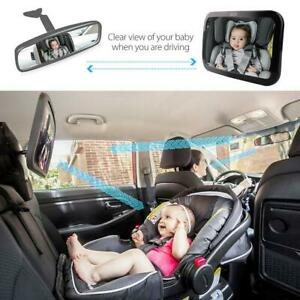 Baby Mirror Back Car Seat Cover for Infant Child Toddler Rear View Ward Safety 4
