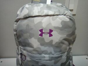 Under Armour Strom Girls Favorite Camo Purple BackPack Padded Laptop Sleeve
