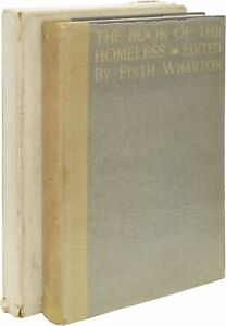 Edith WHARTON / The Book of the Homeless First Edition 1916