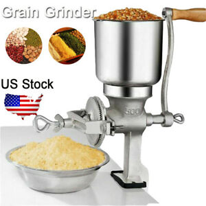 Manual Coffee Grinder Corn Grains Wheat Mill Hand Crank Molino DE Maíz