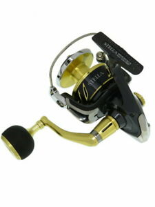 SHIMANO 13 STELLA SW 14000XG Spinning reel Left handle custom JAPAN [Good]